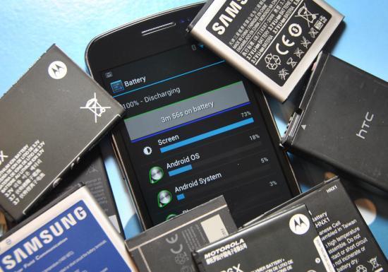 baterias de smartphone