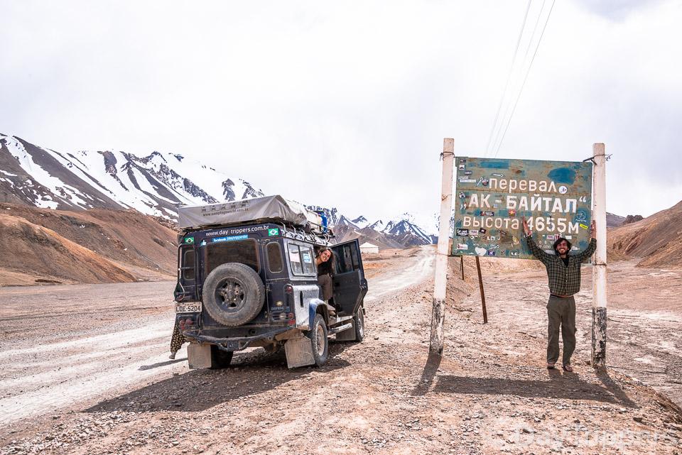 Rafa e Ju no Tajiquistão