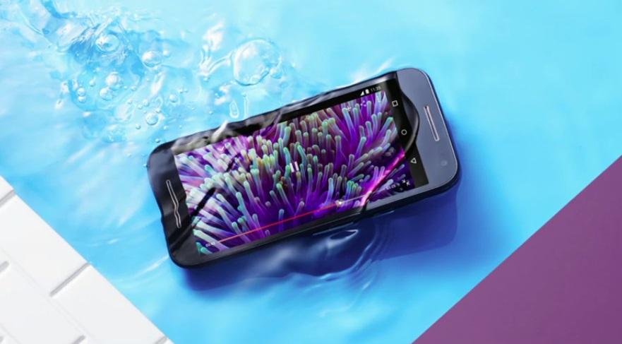 celular à prova d'água motorola moto g 2015