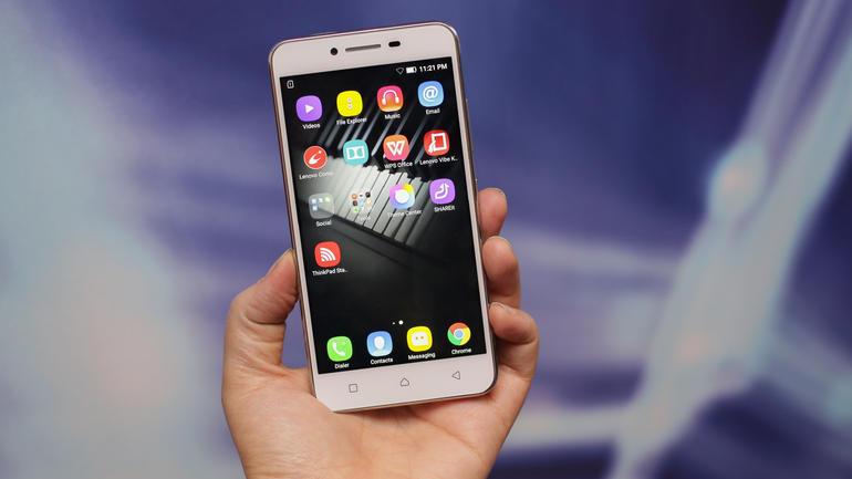 smartphones lançamento lenovo vibe k5