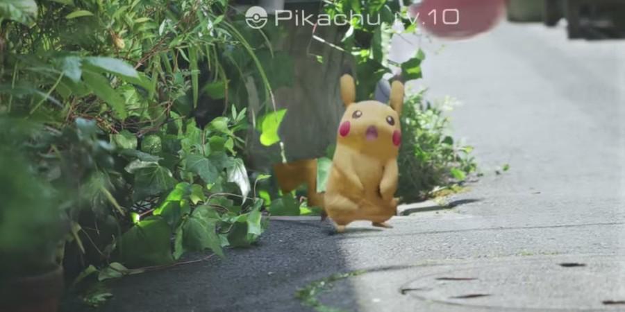 pikachu no pokémon GO