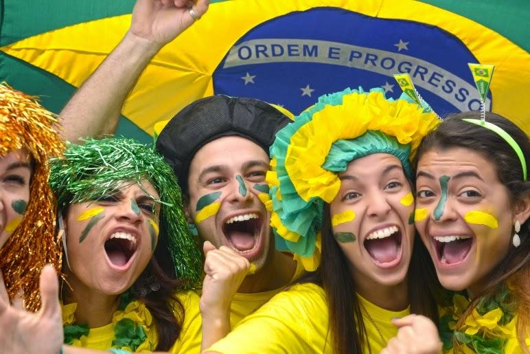 torcedores brasileiros nas olimpiadas 2016