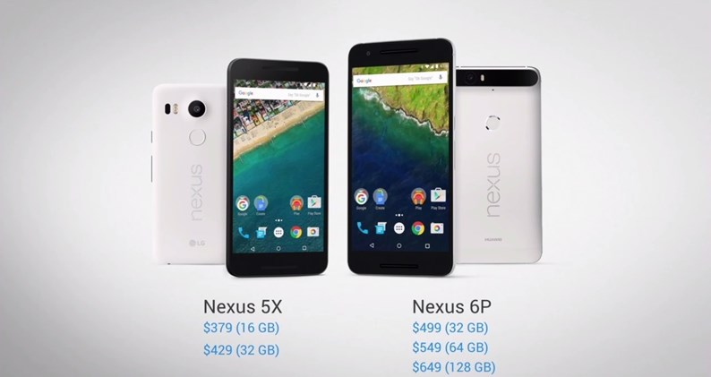 novos nexus concorrentes do lg v20
