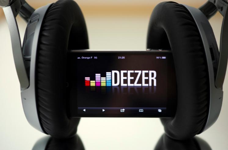 streaming de musica gratis - deezer