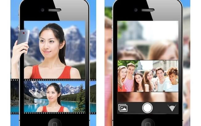 aplicativo de montagem de fotos