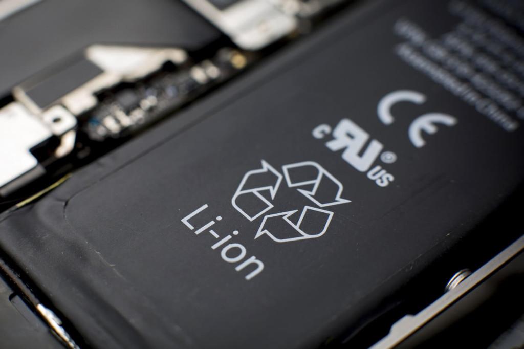 bateria de smartphone