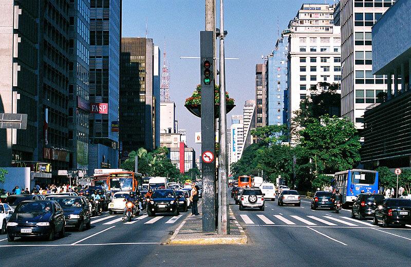 Avenida paulista e o índice de roubo de celulares