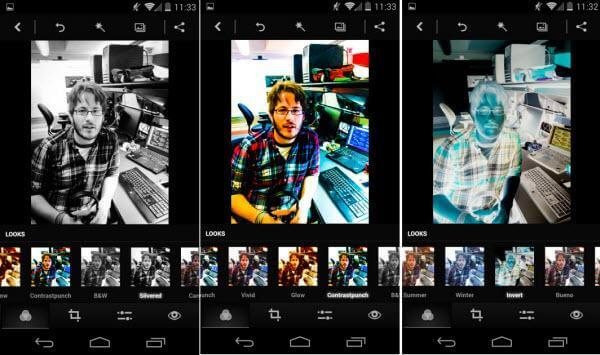 Edição do Photoshop Express para android
