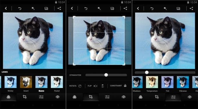 Efeitos do photoshop express para android e ios