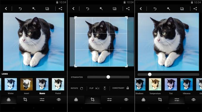 Efeitos do photoshop express para android e ios