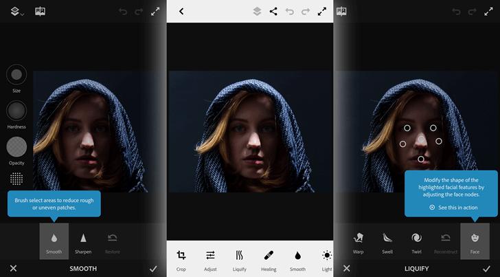 Photoshop Express para celular