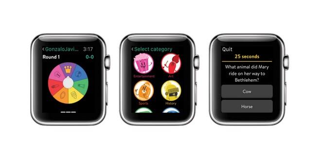 Trivia Crack aplicativo para apple watch