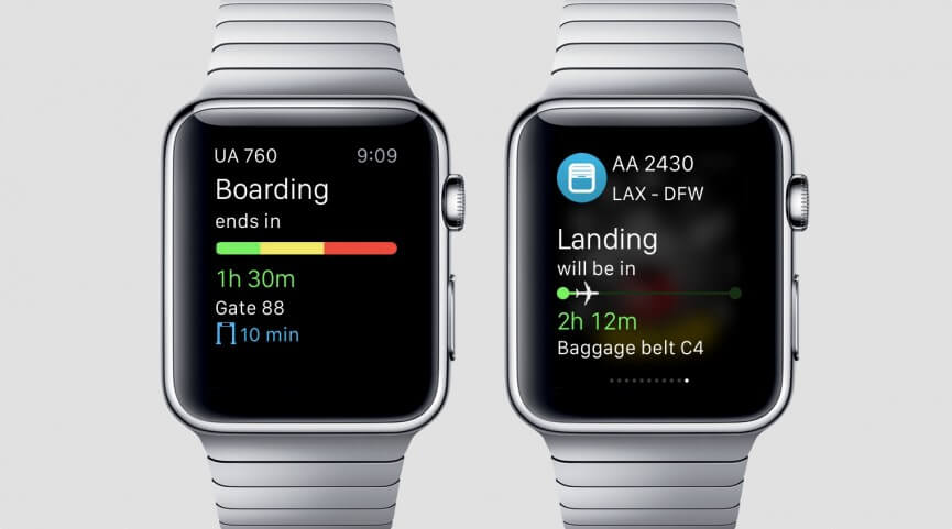 aplicativo para apple watch app in the air