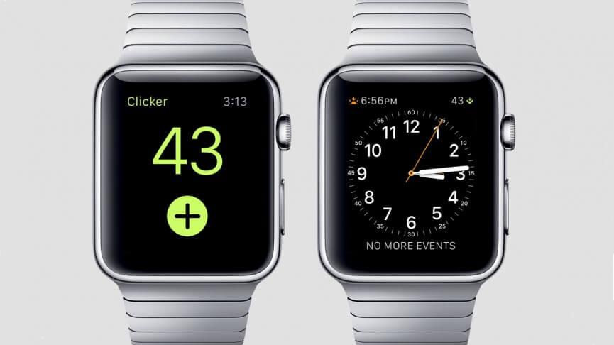 clicker app para apple watch
