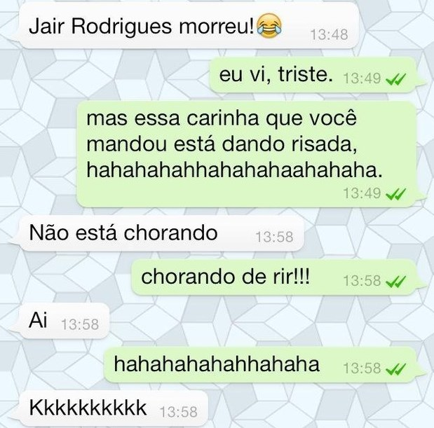 As Conversas mais Engraçadas do WhatsApp
