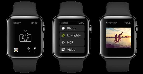 procamera aplicativo para apple watch