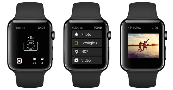 procamera aplicativo para apple watch