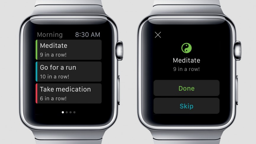 productiveapp para apple watch
