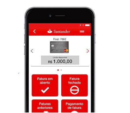 Aplicativo Santander