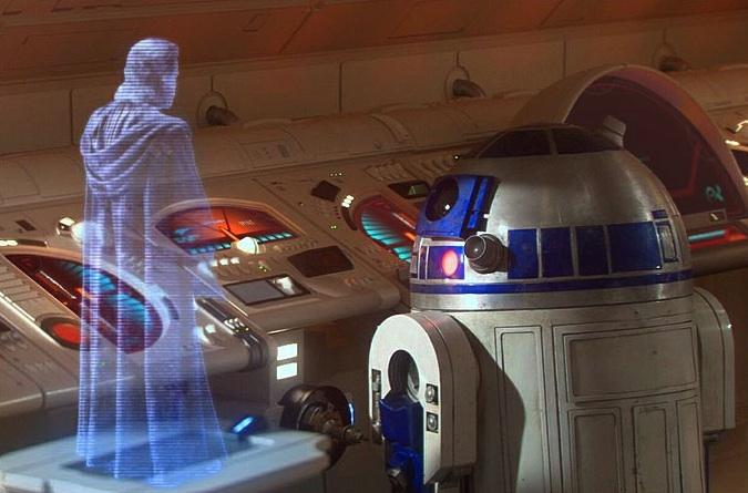 Holograma Star Wars