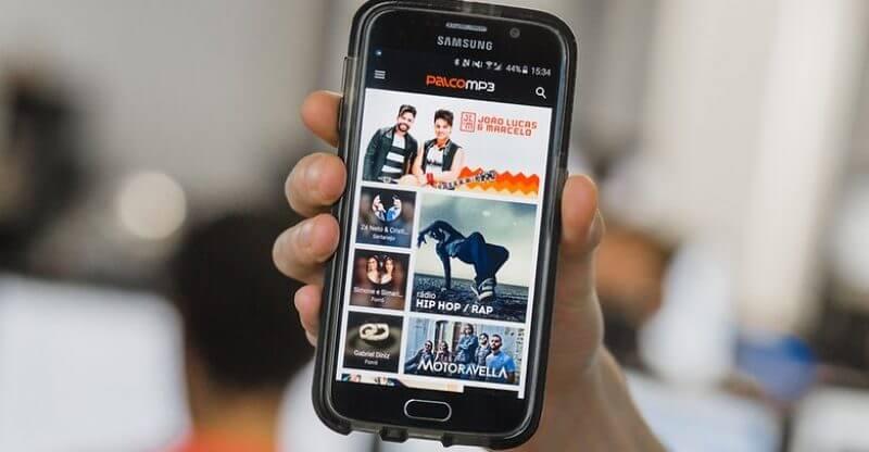 Palco MP3 aplicativo