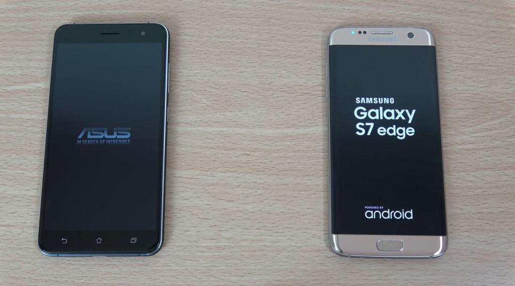Samsung Galaxy S7 edge e ASUS Zenfone 3