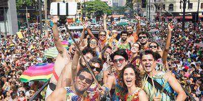 Selfie no carnaval