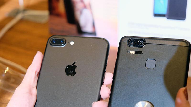ASUS Zenfone 3 Deluxe e iPhone 7 Plus