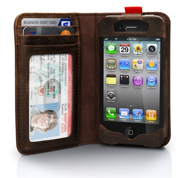 Capa de celular com carteira