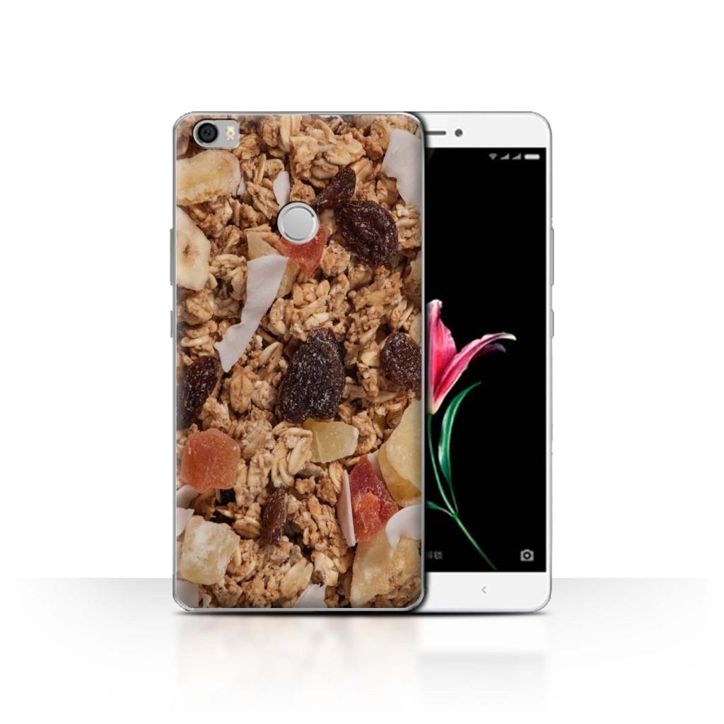 Capa para celular de barra de cereal