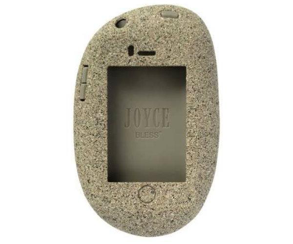 Capa para celular feita de pedra