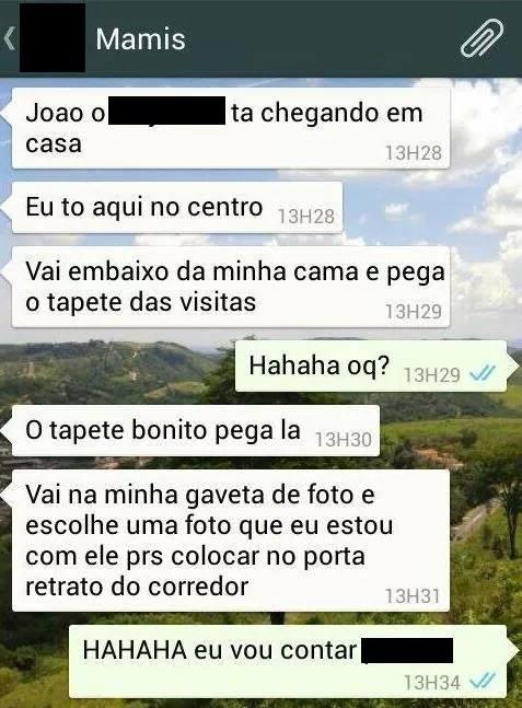 whatsapp de mãe