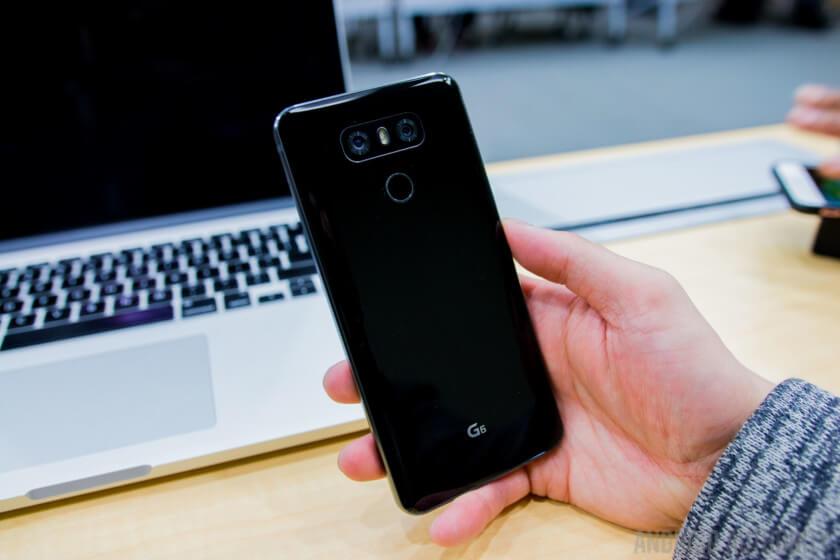 LG g6 celular