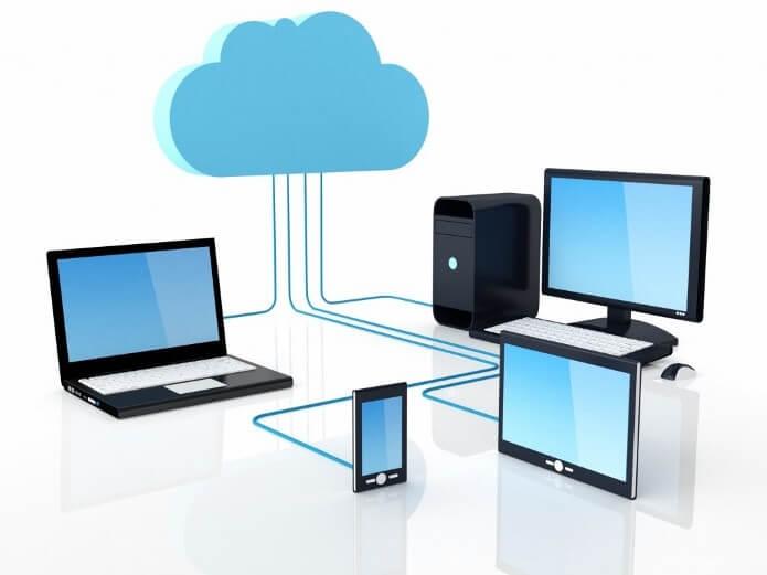 arquivos na nuvem