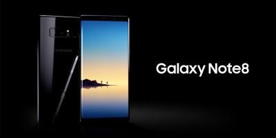 Detalhes Galaxy Note 8