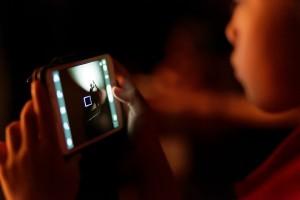 Tela da Câmera Smartphone