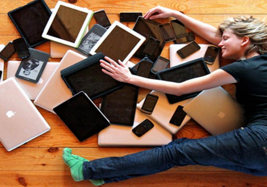 medo de ficar sem o celular