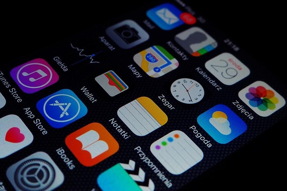 aplicativos padrão iphone