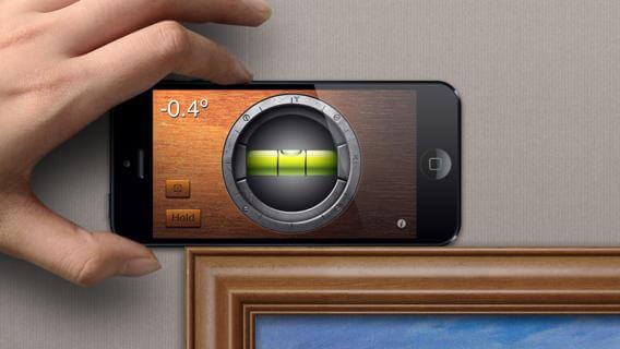 Use iphone como nivelador