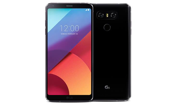 Os 5 meçlhores celular à prova d'água para 2018 LG6