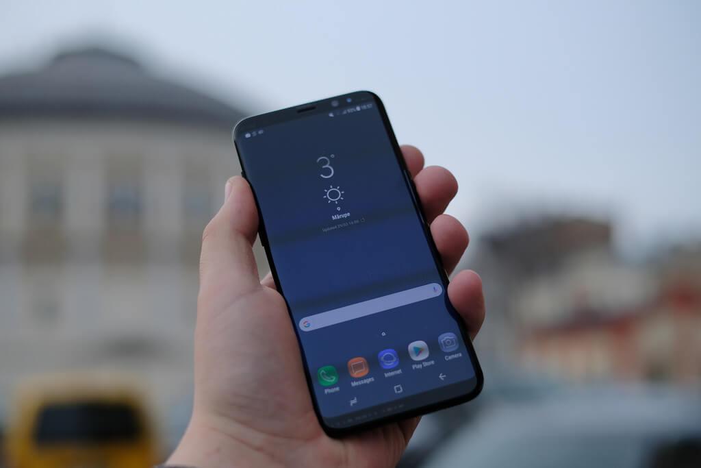 Os 5 meçlhores celular à prova d'água para 2018 com Galaxy S8
