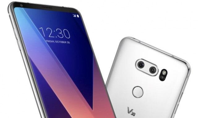 smartphones mais poderosos do mundo com o smartphone LG V30