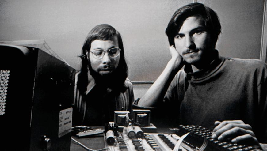 O início nos anos 70 com Steve Jobs e Bill Gates