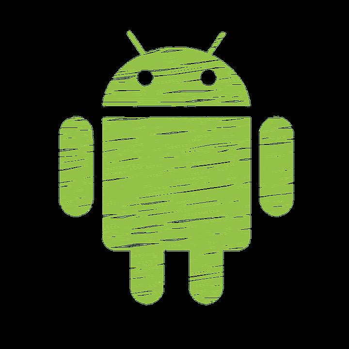 símbolo do sistema operacional android