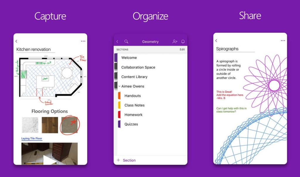 OneNote-apps-de-organizacao