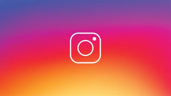 Logo do Instagram.