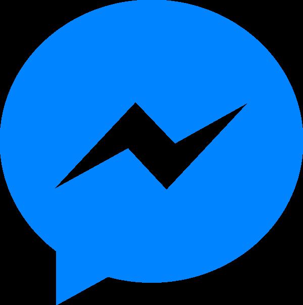 Logo do Messenger.