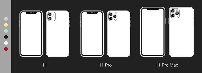 iphone 11 e iphone 11 Pro