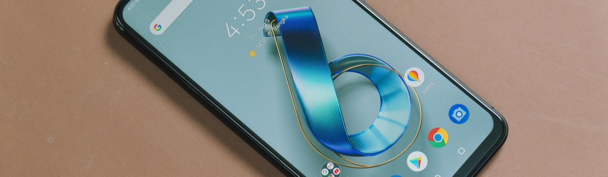imagem do novo Zenfone 6